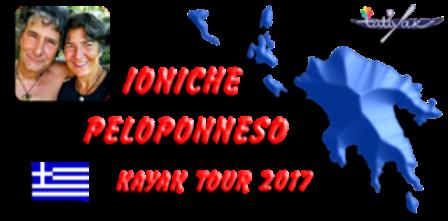Ioniche peloppnneso kayak tour 2017