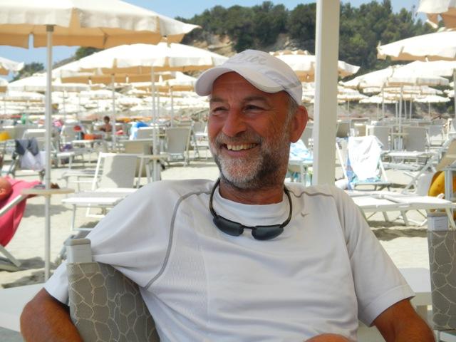 Antonio Colantuoni, autore del brano, ripreso a Chioma (costa livornese) a maggio di quest'anno
