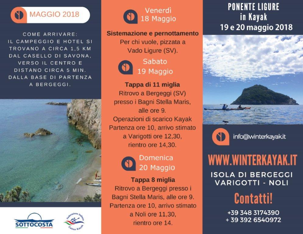 brochure ponente ligure in kayak di winterkayak asd_Pagina_1 (1)