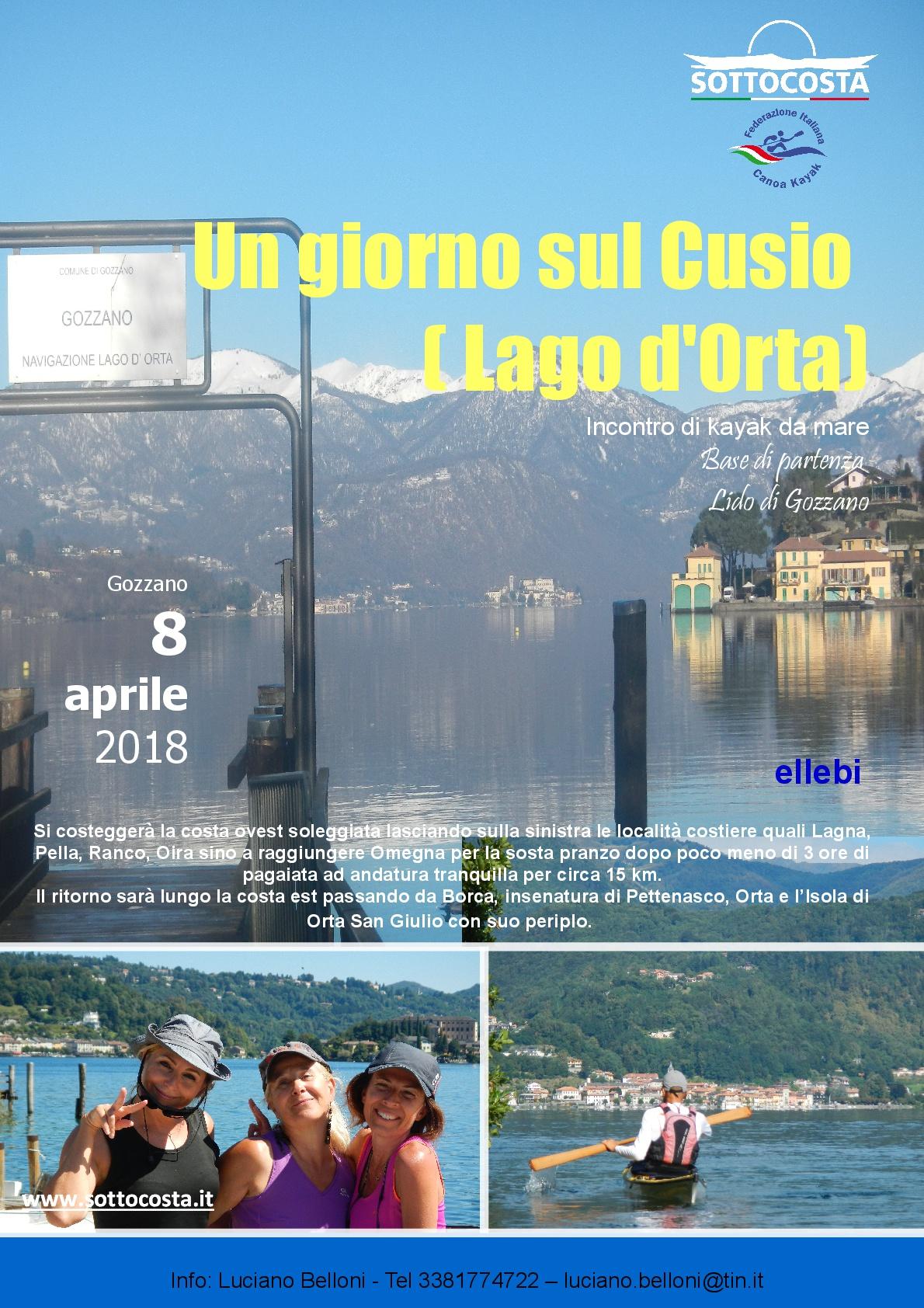 Locandina Lago d'Orta 2018